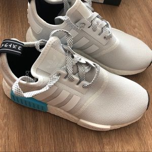 Adidas NMD. Light gray and blue, size 4 in womens